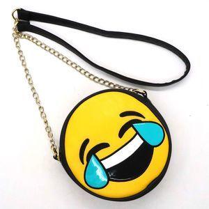 Olivia Miller Tears of Joy Emoji Crossbody Bag
